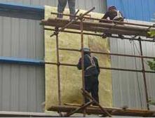 玻璃棉卷毡施工案例